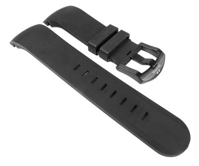 TW STEEL Ersatzband Kautschuk 24mm schwarz Grandeur TW43 TW40 TW125 TW705 – Bild 1