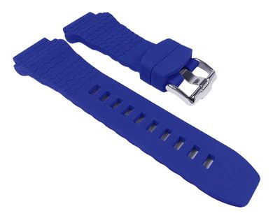 Jacques Lemans Ersatzband Uhrarmband 22mm Kautschuk Band für 1-1381 auch 1-1222 – Bild 5