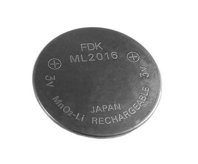Knopfzellen Akku Batterie ML2016 ML-2016 für Casio 24799