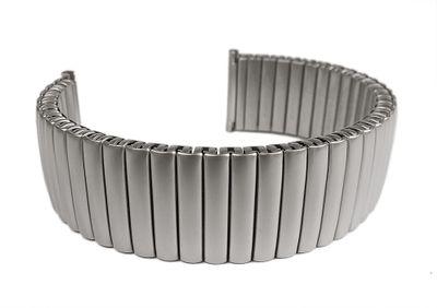 ROWI Fixoflex S Zugband 22mm Uhrenarmband Edelstahl Made in Germany