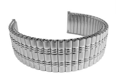 ROWI Fixoflex S Zugband 22mm Uhrenarmband Edelstahl Made in Germany 24813S – Bild 1