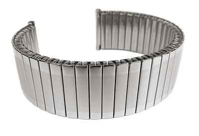 ROWI Fixoflex S Zugband 22mm Uhrenarmband Edelstahl Made in Germany 24817S – Bild 1