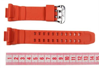 Uhrenarmband Resin orange Casio GW-3000 10370830 – Bild 2