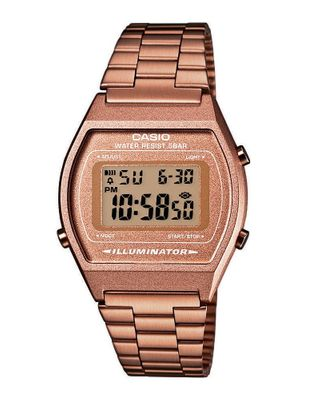 Casio Collection Digitaluhr B640WC-5AEF ► Kupferfarben Retro Design