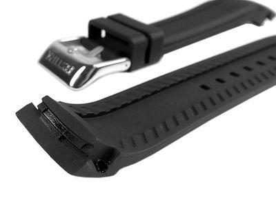 Ersatzband Kautschuk 20mm schwarz Festina F16561 – Bild 2