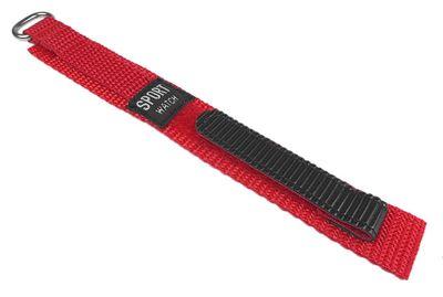 Minott Ersatzband Uhrenarmband Sport-Watch Durchzugsband Band Rot 14mm 25290 – Bild 1