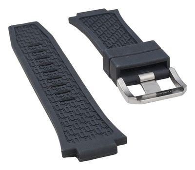 Police Cobra Ersatzband Uhrenarmband Kautschuk schwarz für P13845JS-02 – Bild 2