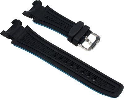 Ersatzband Kautschuk schwarz/blau Police P14215JSTB-02A – Bild 2