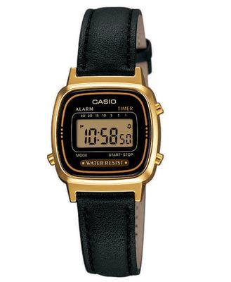 Digitale Damenuhr Casio Collection LA670WEGL-1EF