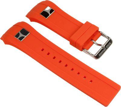 Hugo Boss Orange Ersatzband Uhrenarmband Kautschuk Band Orange 24mm 1512812 – Bild 1