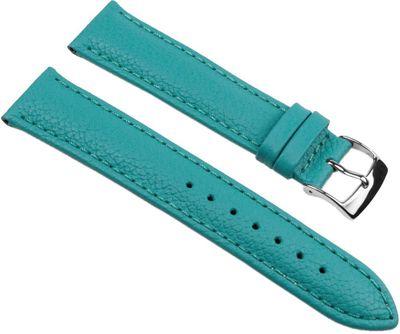 Uhrenarmband Rindsleder Türkis Fancy Fashion TiT 25484S – Bild 1