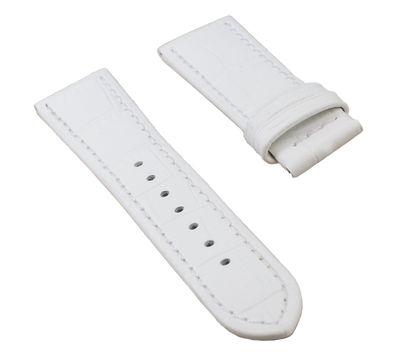 Jaguar | Damen Uhrenarmband Leder weiß 18mm für J646 J647 J648 J649