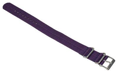 Ersatzband Textil violett 20mm Nato Timex T2N648 – Bild 2