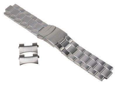 Timex Uhrenarmband Edelstahl 22mm T2N809 - 25927 – Bild 1