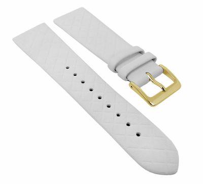 Ersatzband Leder weiß Raute Kopenhagen Manufaktur 25947G – Bild 1