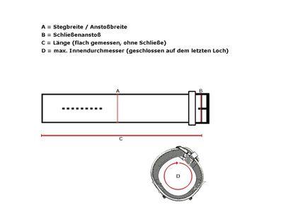 Nato Style Ersatzband Textil Durchzugsband 20mm – Bild 2
