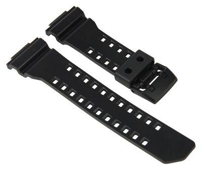 Ersatzband Resin Casio schwarz für GA-400 10477026 – Bild 1