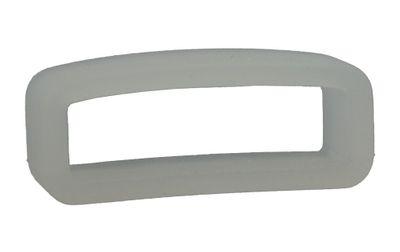 Schlaufe Silikon weiß transparent für Swatch 19,5mm 26045 – Bild 1