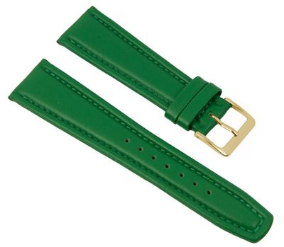 Uhrenarmband Montana Walknappa Leder Grün 26374G – Bild 1