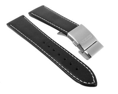 Citizen Ersatzband Leder schwarz 23mm für Eco Drive Funk AT8011-04E  – Bild 1