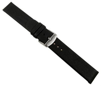 XL Ersatzband Leder schwarz gleichlaufend Design II 26753S – Bild 1
