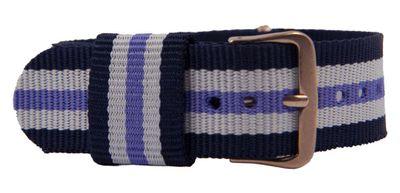Durchzugsband Textil Blau/Lila/weiß 26772 – Bild 1