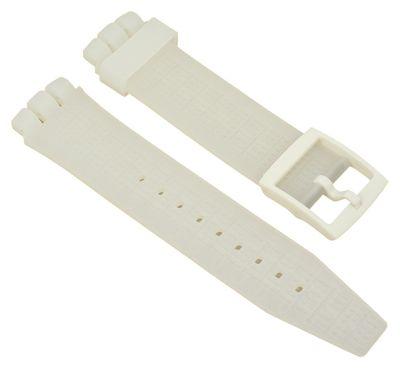 Ersatzband Silikon transparent 21mm passend zu Swatch Irony 27185 – Bild 1