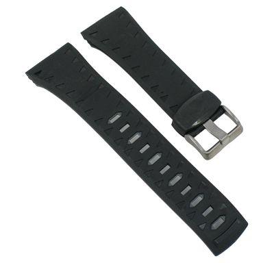 Ersatzband Herren Kunststoff schwarz/grau Calypso  K5584/4 – Bild 1