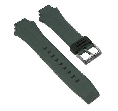 Uhrenarmband Kautschuk graugrün Calypso K5607/3 K5606/1 – Bild 1