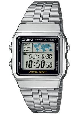 Casio Herrenuhr digital A500WEA-1EF | Timer ► Weltzeit ► 5 Tagesalarme