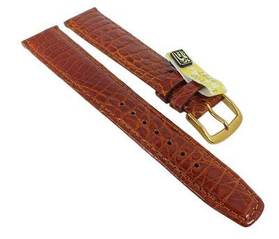 Uhrenarmband XL Krokoleder Graf Bahamas braun 27569 – Bild 1
