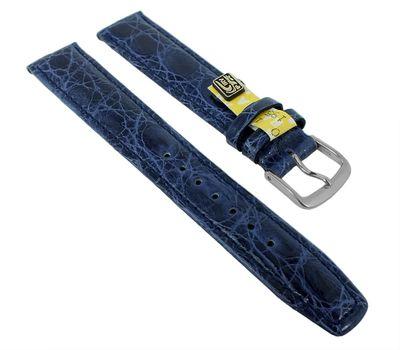 Uhrenarmband XL Krokoleder Graf Bahamas dunkelblau 27573 – Bild 2