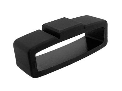Schlaufe Kautschuk schwarz 22mm für Festina F16505 F16670 – Bild 1