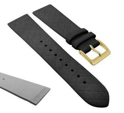 Ersatzband XL Leder schwarz Raute Kopenhagen Manufaktur 27849 – Bild 2