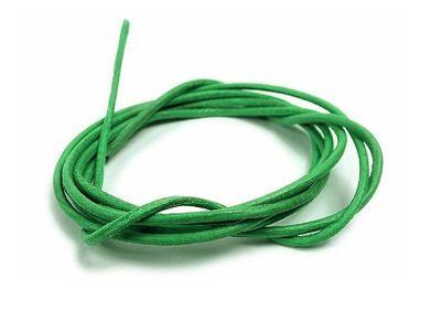 Halskette Ziegenleder Lederriemen Band 100cm hellgrün Minott 27907