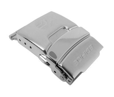 Casio Edifice Faltschließe 22mm | Edelstahl silbern EF-539D – Bild 1