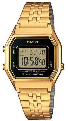 Armbanduhr Casio Collection Damen Digital LA680WEGA-1ER