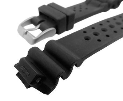 Minott Uhrenarmband Kunststoff schwarz JP1060 AL0050 BJ2040 4-S016053 – Bild 2