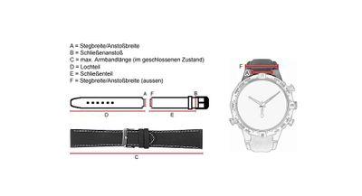Ersatzband Kunststoff schwarz Festina F16667/6 - 28277 – Bild 3
