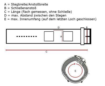 Ersatzband Leder grau 16mm für s.Oliver SO-2947-LQ – Bild 2