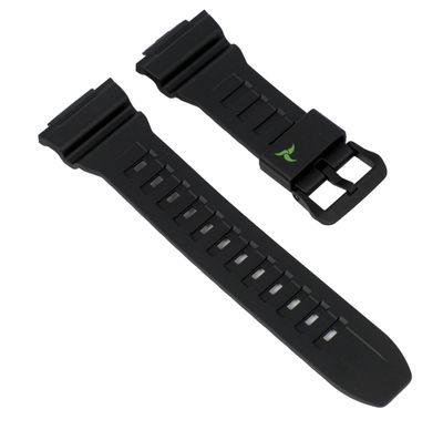 Ersatzband schwarz für Casio Sports STL-S110H 10500877 – Bild 1