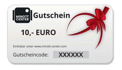 Minott Center | Geschenk-Gutschein im Wert von 10 Euro