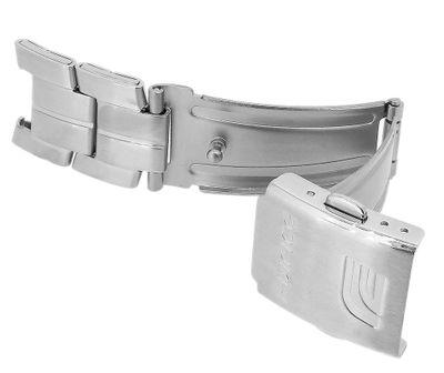 Casio Edifice Faltschließe 18mm Edelstahl silbern EF-126D 10261393 – Bild 2