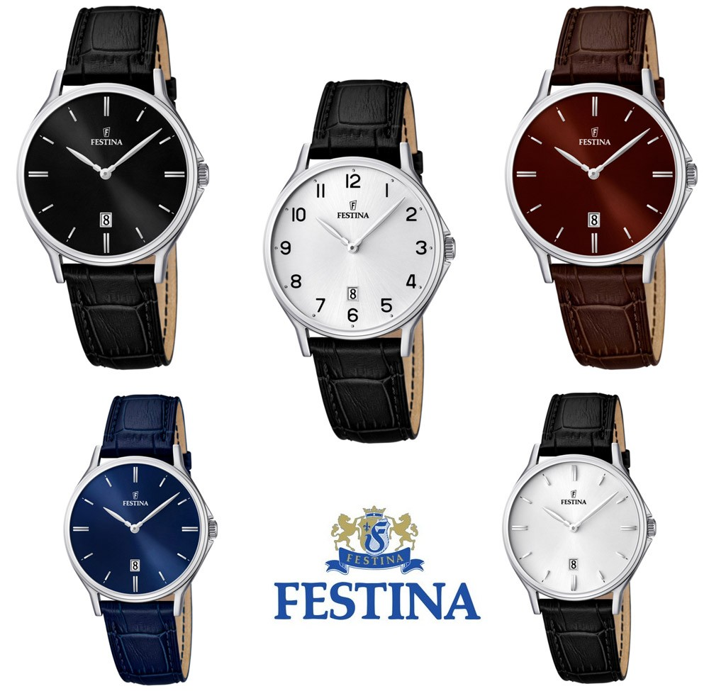 festina f16745 herren armbanduhr analog mit datumsanzeige. Black Bedroom Furniture Sets. Home Design Ideas