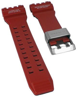 Casio G-Shock  Uhrenarmband | Carbon / Resin rot | für GPW-1000RD-4AER – Bild 1