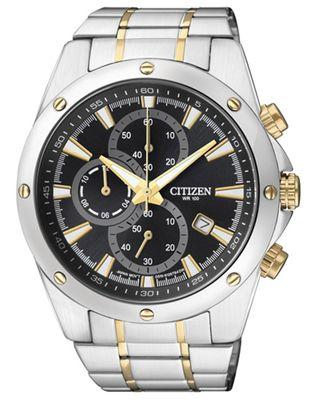 Citizen | Armbandur Herren Chrono Basic AN3534-51E