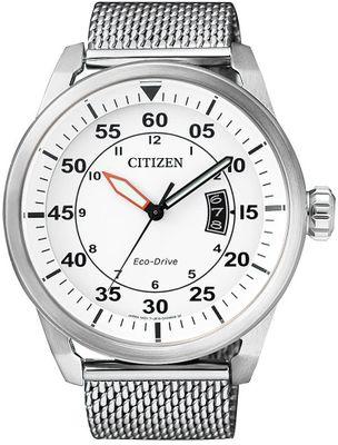Citizen | Solaruhr mit Milanaise Armband Elegant AW1360-55 – Bild 2