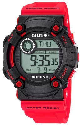 Calypso K5694 Herrenuhr Chrono digital mit PU-Armband – Bild 4