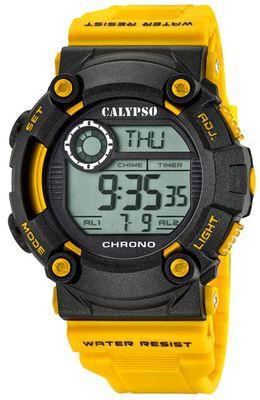 Calypso K5694 Herrenuhr Chrono digital mit PU-Armband – Bild 2