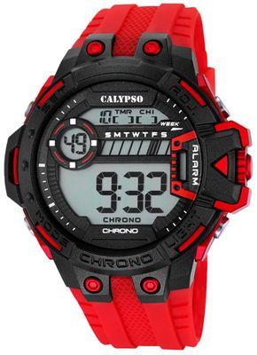 Calypso K5696 Herrenuhr Chrono digital mit PU-Armband – Bild 4